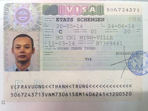 Visa Châu Âu